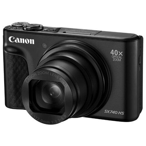 Купить Фотоаппарат Canon PowerShot SX740 HS черный