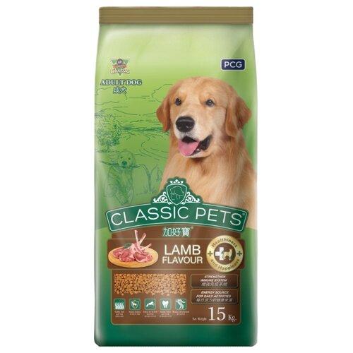 Корм для собак Classic Pets (15 кг) Сухой корм для взрослых собак всех пород с ягненком
