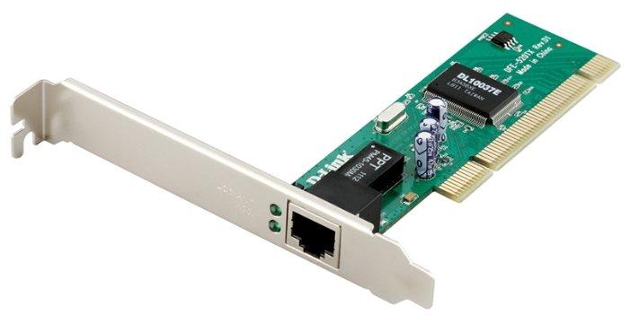 Сетевой адаптер D-link DFE-520TX/D1A [сетевая карта, интерфейс PCI 2.1/10/100 Мбит/с/1 разъем RJ-45/802.3x Flow Control]