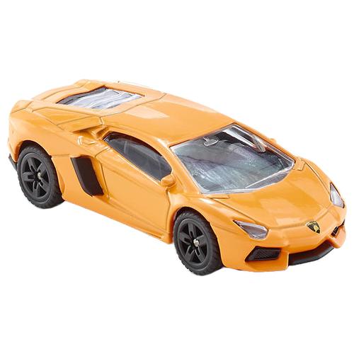 Купить Легковой автомобиль Siku Суперкар Lamborghini Aventador (1449) 1:55 9.7 см оранжевый, Машинки и техника