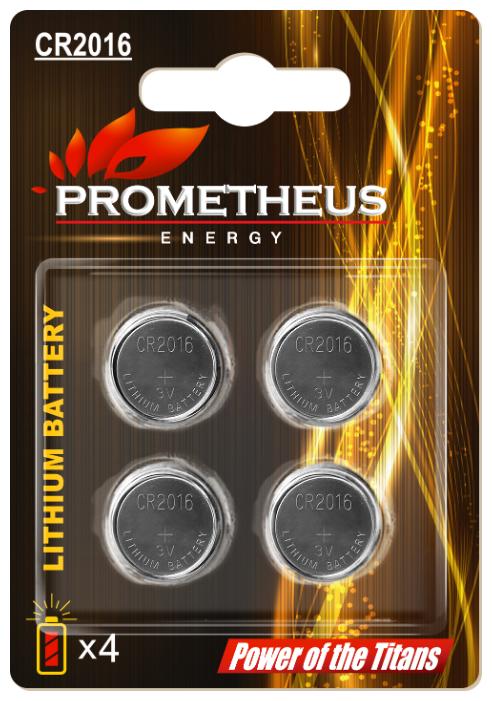 Батарейка Prometheus Energy CR2016