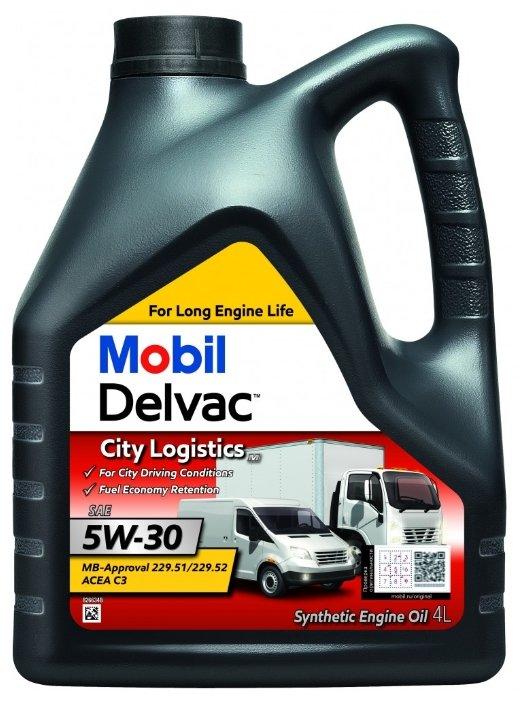 Моторное масло MOBIL Delvac City Logistics M 5W-30 4 л