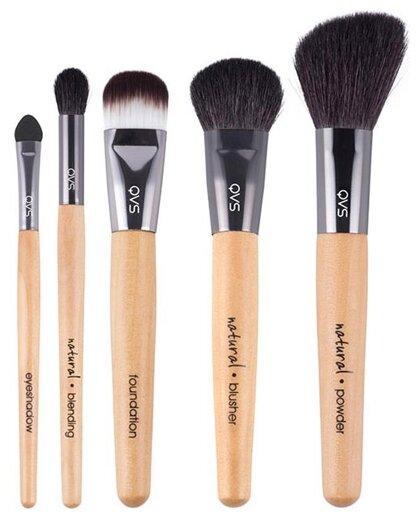 Набор кистей Qvs для макияжа, 5 шт.