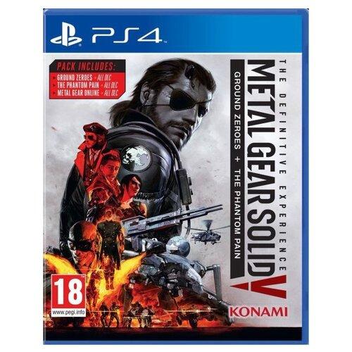 Игра для PlayStation 4 Metal Gear Solid V: The Definitive Experience русские субтитры