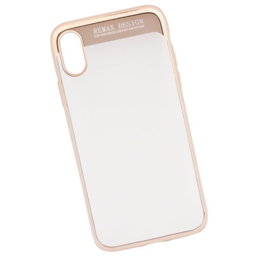 Купить Чехол Remax Modi Series Case для Apple iPhone Х золотой