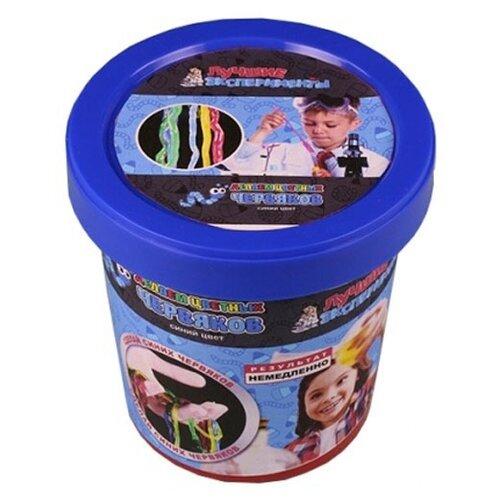 Купить Набор Qiddycome Делаем цветных червяков синий, Наборы для исследований