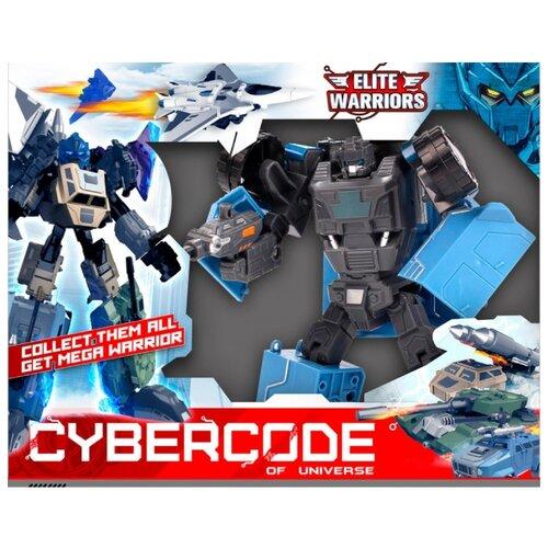 Трансформер Cybercode Cronos серый/голубой zormaer cybercode ironside intruder