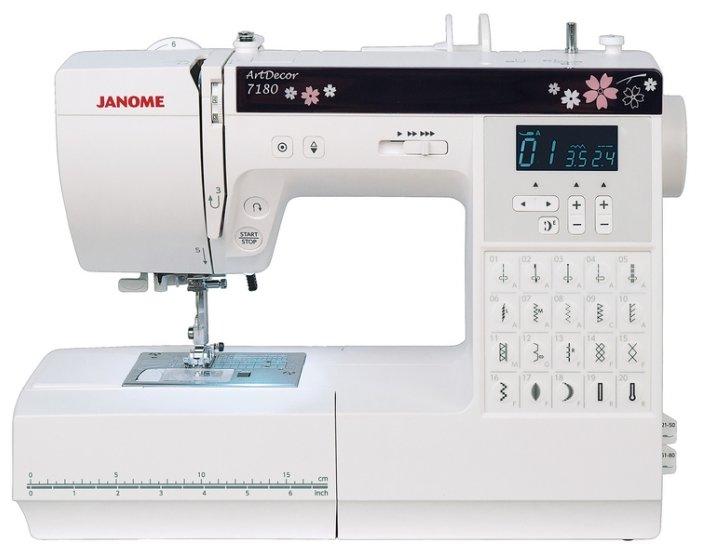 Швейная машина Janome Art Decor 7180
