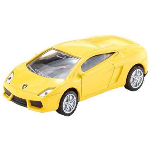 Купить Легковой автомобиль Siku Спорткар Lamborghini Gallardo (1317) 1:55 9.7 см желтый, Машинки и техника