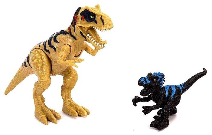 Фигурки Chap Mei Dino Valley - Мегалозавр с маленьким динозавром 520059-1