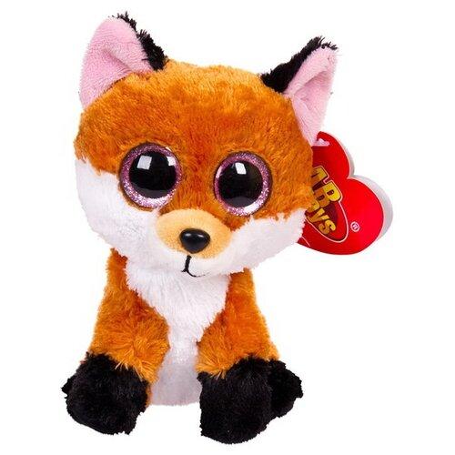 Купить Мягкая игрушка ABtoys Лисичка рыжая 15 см, Мягкие игрушки
