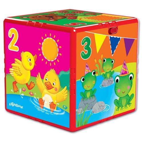 Купить Интерактивная развивающая игрушка Азбукварик Говорящий кубик. Счёт, формы, цвета разноцветный, Развивающие игрушки