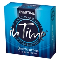 Презервативы in Time Overtime 3 шт.