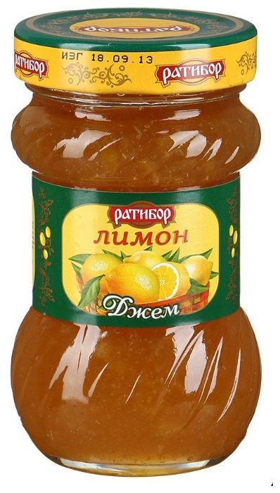 Джем Ратибор лимон, банка 360 г