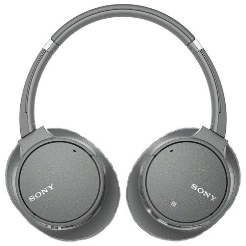 Беспроводные наушники Sony WH-CH700N серый фото
