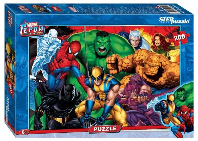 Пазл Step puzzle Marvel Герои Marvel (95012), 260 дет.
