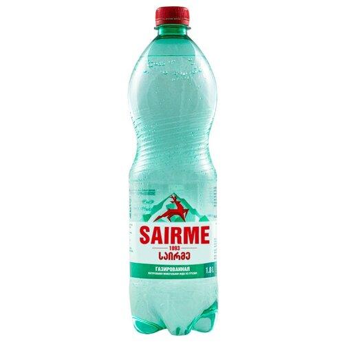 Вода минеральная лечебно-столовая Sairme газированная ПЭТ, 1 лВода<br>