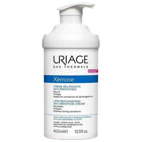 Купить Крем для тела Uriage Xemose Creme Relipidante Anti-Irritations липидовосстанавливающий против раздражений, 400 мл