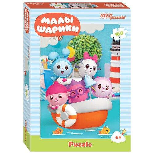 Пазл Step puzzle Малышарики на кораблике, Малышарики (94082), 160 дет. комплект paulmann meta 94082