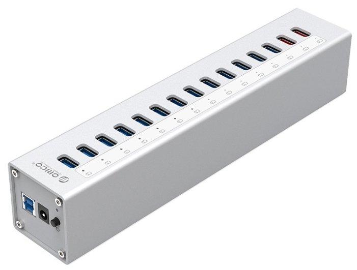 USB-концентратор ORICO A3H13P2, разъемов: 15
