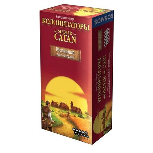 Купить Дополнение для настольной игры HOBBY WORLD Колонизаторы. Расширение для 5-6 игроков, Настольные игры