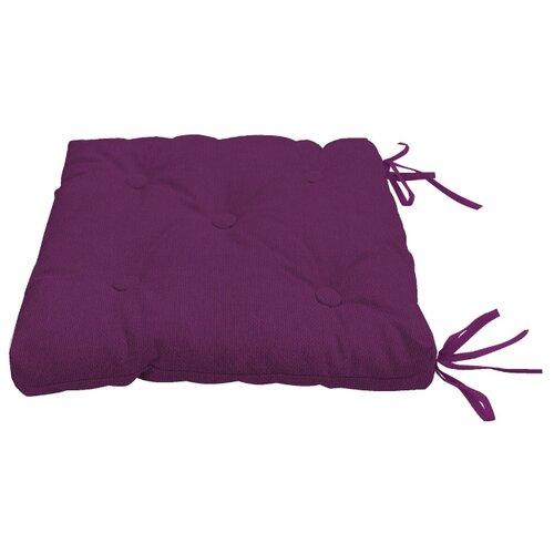 Подушка на стул Kauffort Нosta, 40 х 40 см (121050) фиолетовыйДекоративные подушки<br>