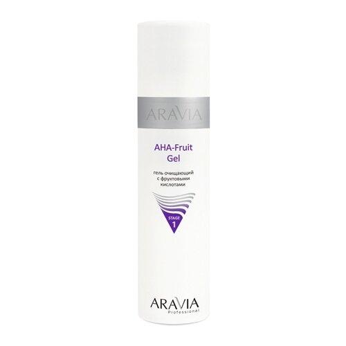 Aravia гель очищающий с фруктовыми кислотами AHA Fruit Gel, 250 млОчищение и снятие макияжа<br>