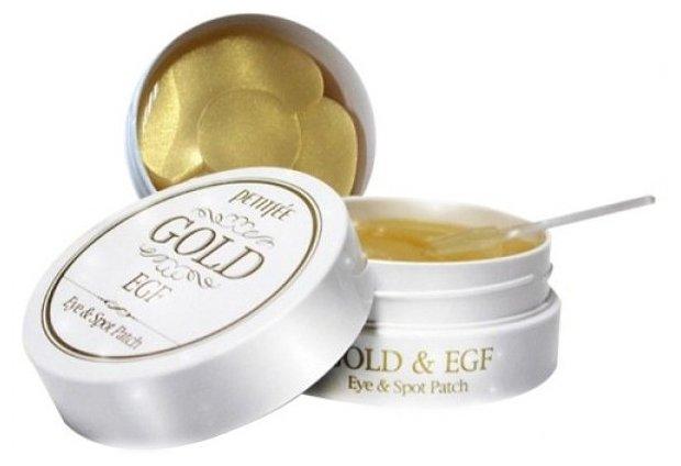 Патчи для области вокруг глаз и для точечного использования Petitfee Gold & EGF Eye & Spot Patch