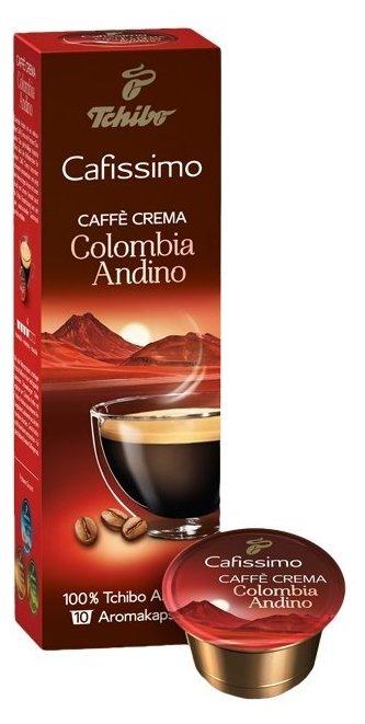 Кофе в капсулах Tchibo Caffe Crema Colombia Andino (10 шт.)