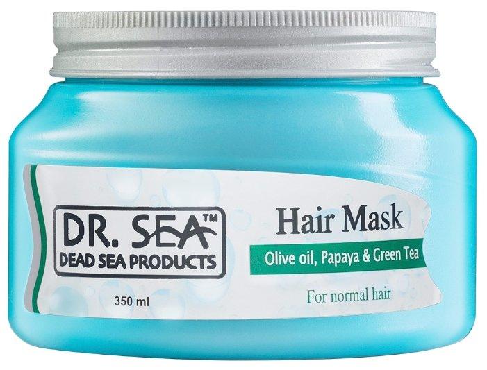 Dr. Sea Маска для волос с оливковым маслом, папайей и зеленым чаем