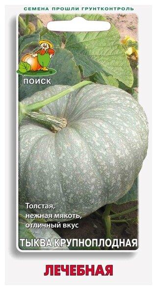 Семена ПОИСК Тыква крупноплодная Лечебная 10 шт.