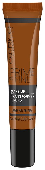 CATRICE Тональное средство Prime And Fine Make Up Transformer Drops для коррекции тональной основы, 15 мл