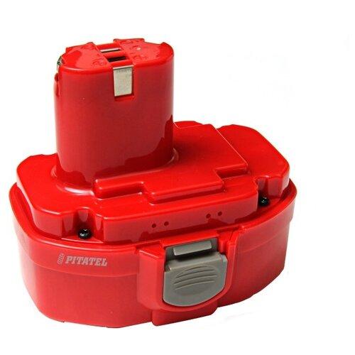 Аккумулятор Pitatel TSB-033-MAK18A-20C Ni-Cd 18 В 2 А·ч аккумуляторный блок pitatel tsb 217 ae g 12c 20l 12 в 2 а·ч