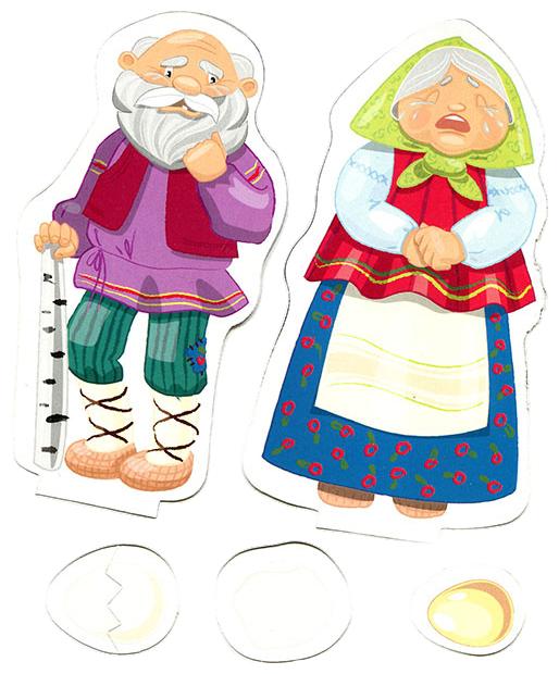Персонажи сказки курочка ряба в картинках отдельно, днем