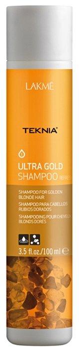 Шампунь Lakme Teknia Ultra Gold Освежающий цвет золотисто-русых волос
