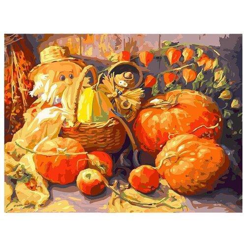 Купить Белоснежка Картина по номерам Домовые 30х40 см (228-AS), Картины по номерам и контурам