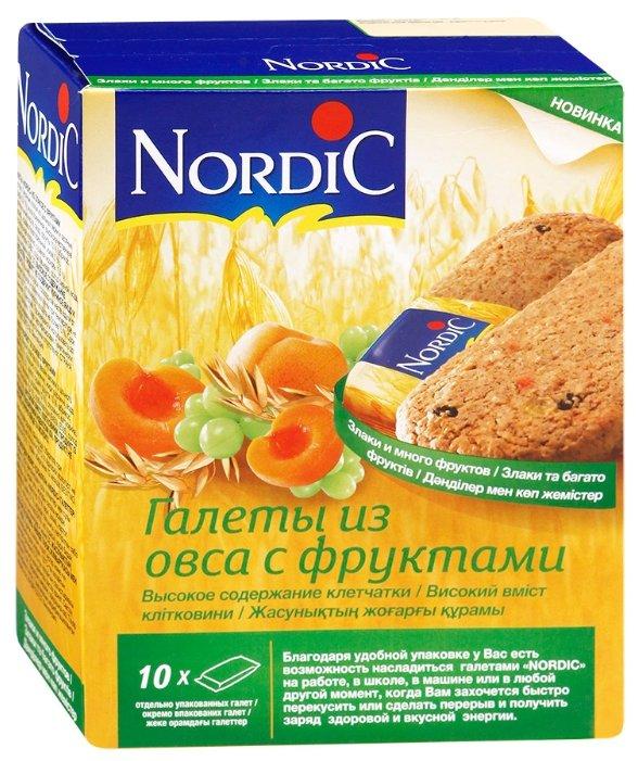 Галеты NORDIC (Нордик) из овса с фруктами, 300 гр.