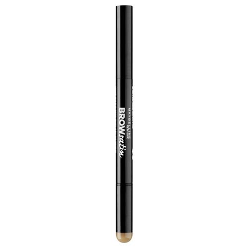 Фото - Maybelline New York карандаш Brow Satin, оттенок 01, Темный блонд maybelline brow pomade