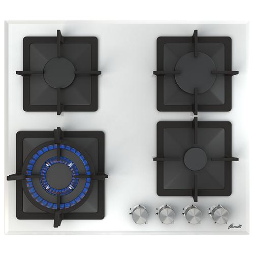 Газовая варочная панель Fornelli PGT 60 Calore WH встраиваемая газовая варочная панель krona calore 60 wh