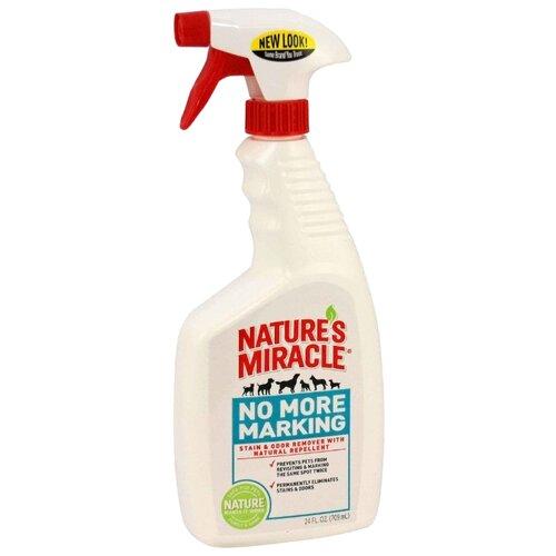 Спрей 8 In 1 уничтожитель пятен и запахов No More Marking против повторных меток 709 мл