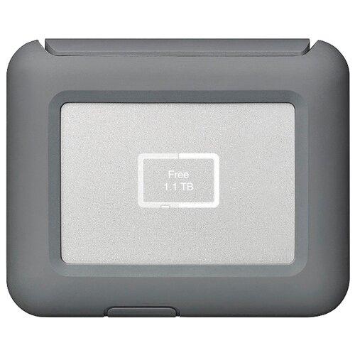 Фото - Внешний HDD Lacie DJI Copilot 2 ТБ серый стедикам dji om4 cp os 00000108 01 серый