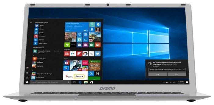 Ноутбук Digma EVE 604 (Intel Atom x5 Z8350 1440 MHz/15.6