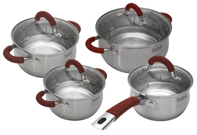 Набор посуды TalleR TR-7150 нержавеющая сталь