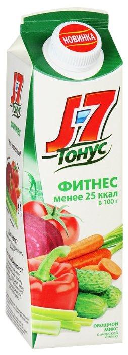 Сок J7 Тонус Фитнес Томат и зелень, без сахара, 1.45 л