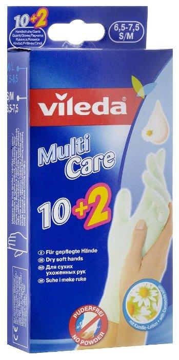 Перчатки Vileda Multi Care 12 шт.