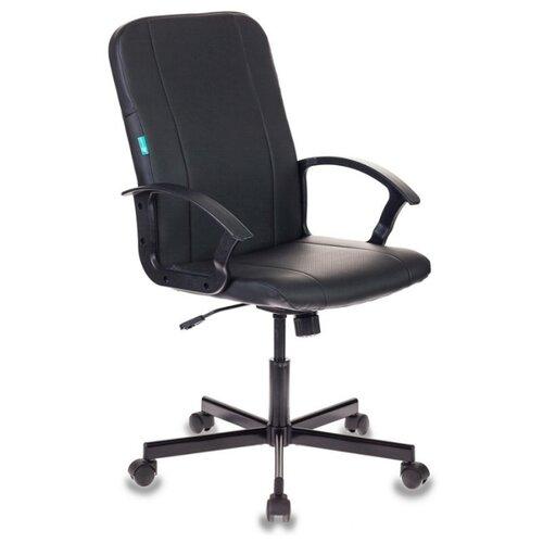 Компьютерное кресло Бюрократ CH-551 офисное, обивка: искусственная кожа, цвет: черный