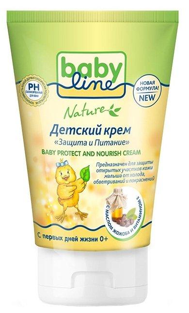 BabyLine Nature крем детский Защита и питание