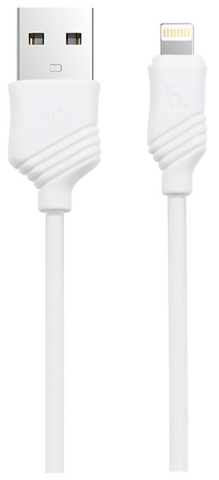 Кабель Hoco X6 Khaki USB - Lightning 1 м