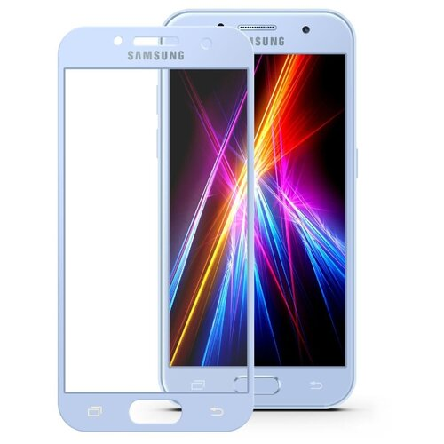 Защитное стекло Mobius 3D Full Cover Premium Tempered Glass для Samsung Galaxy A3 2017 голубой liberty project tempered glass защитное стекло для samsung galaxy a3 clear 0 33 мм