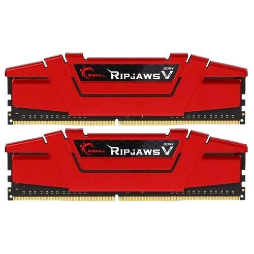 Оперативная память G.SKILL DDR4 3600 (PC 28800) DIMM 288 pin, 16 ГБ 2 шт. 1.35 В, CL 19, F4-3600C19D-32GVRB